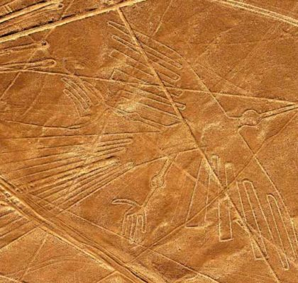 Ancestral calendary (Nazca Lines) departure from Lima
