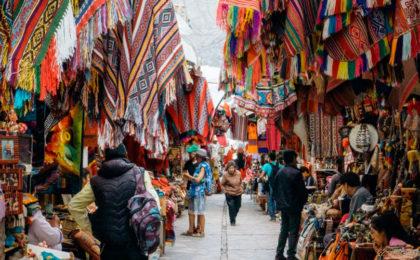 El Mercado Artesanal de Pisac